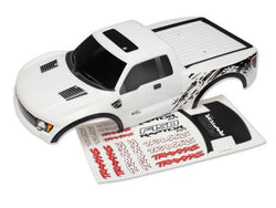 Traxxas Ford Raptor Painted Decals Applied Body, White