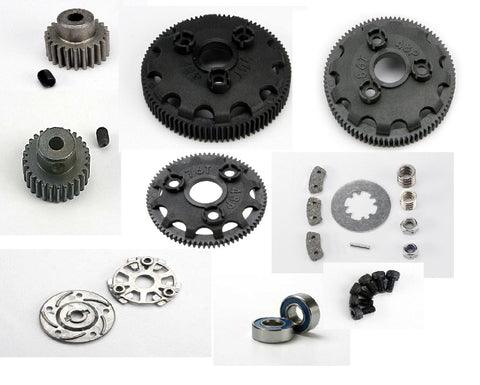 TRAXXAS SLASH VXL ASST - SPUR / PINION GEARS W/ SLIPPER CLUTCH