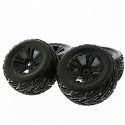 Arrma Kraton 6S BLX 1/8: Black dBoots 'Minokawa' Factory Mounted & Glued Tires by Arrma