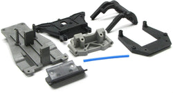 BANDIT VXL SHOCK TOWERS, FRONT SKID, BUMPER, 3639, 3638, 3723A, TRAXXAS #24076-3