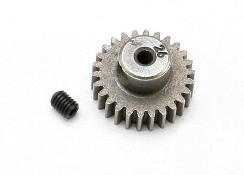 Traxxas 48 Pitch Pinion Gear, 26T w/Setscrew: 1/16 by Traxxas