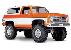 Traxxas TRA82076-4_ORNG TRX-4 Scale and Trail Crawler with 1979 Chevrolet Blazer Body