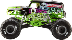 AXIAL AX90055 SMT10 GRAVE DIGGER MONSTER JAM TRUCK 1/10th SCALE ELECTRIC 4WD ? RTR THE COOLEST MONSTER TRUCK IN YEARS TO COME OUT, JUST RELEASED