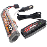Traxxas Bandit XL-5 3000 mAh NiMH 8.4V 7-C HUMP iD BATTERY & 4 AMP CHARGER by Traxxas