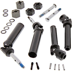 Traxxas 1/10 Craniac 2WD FRONT & REAR AXLES, REAR DRIVE SHAFTS & 12mm HEX HUBS