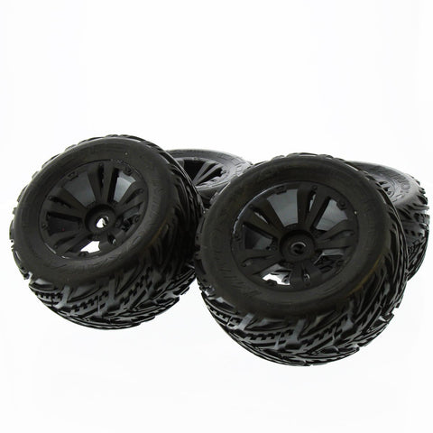 Arrma Kraton 6S BLX 1/8: Black dBoots 'Minokawa' Factory Mounted & Glued Tires