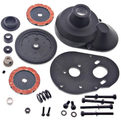 HPI 1/10 E-Firestorm Flux 87T SPUR GEAR SLIPPER CLUTCH MOTOR PLATE PINION COVER