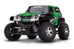 Traxxas Telluride: 4X4 Electric Extreme Terrain 4WD Monster Truck (1/10 Scale), Green