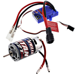 Traxxas Bandit XL-5 XL-5 iD LOW PROFILE WATERPROOF ESC & TITAN 12T 550 MOTOR