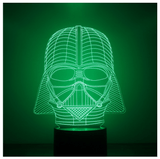 Lampara Efecto 3D Led - Star Wars Darth Vader