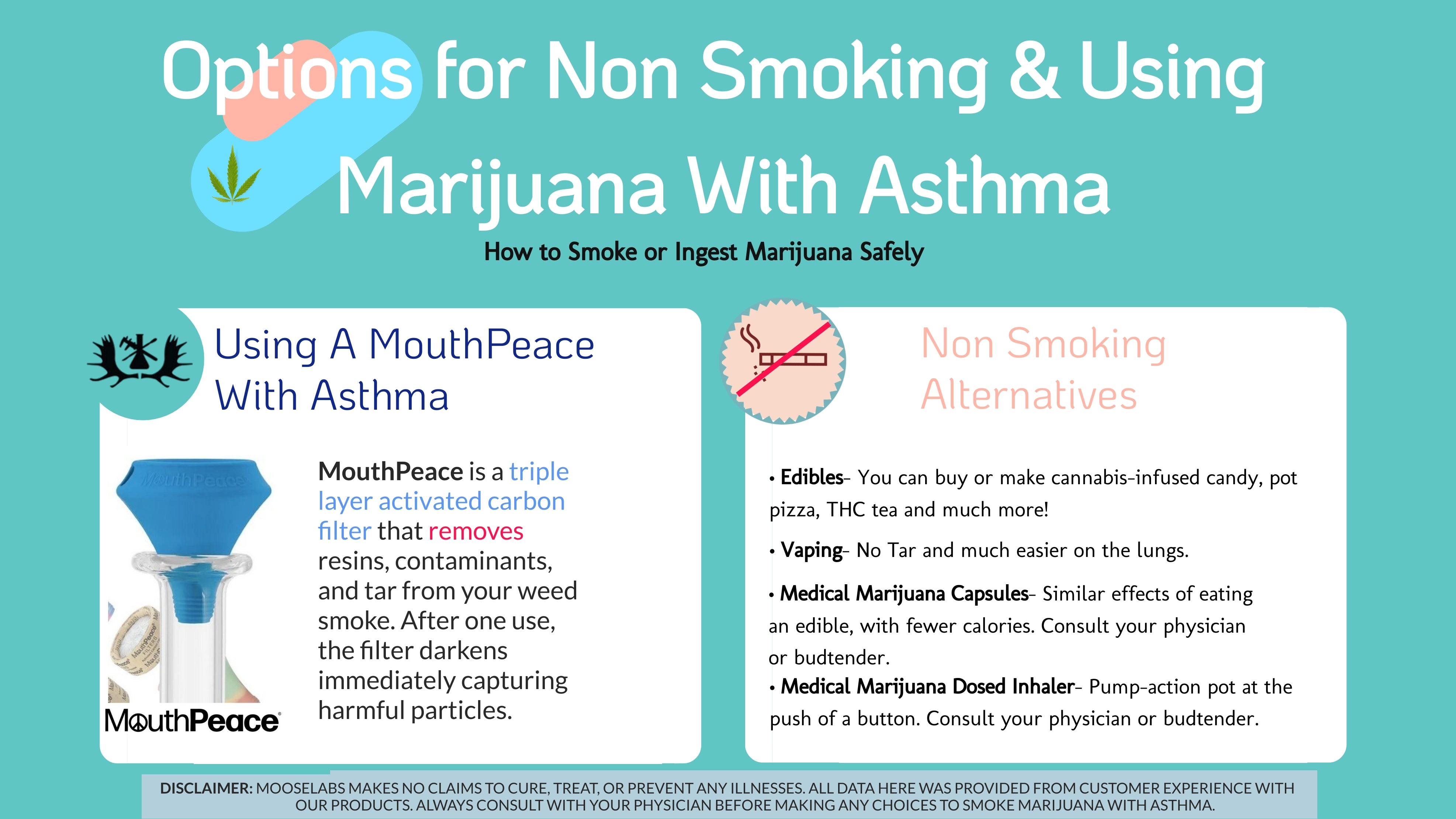 options for non smoking and using marijuana with asthma