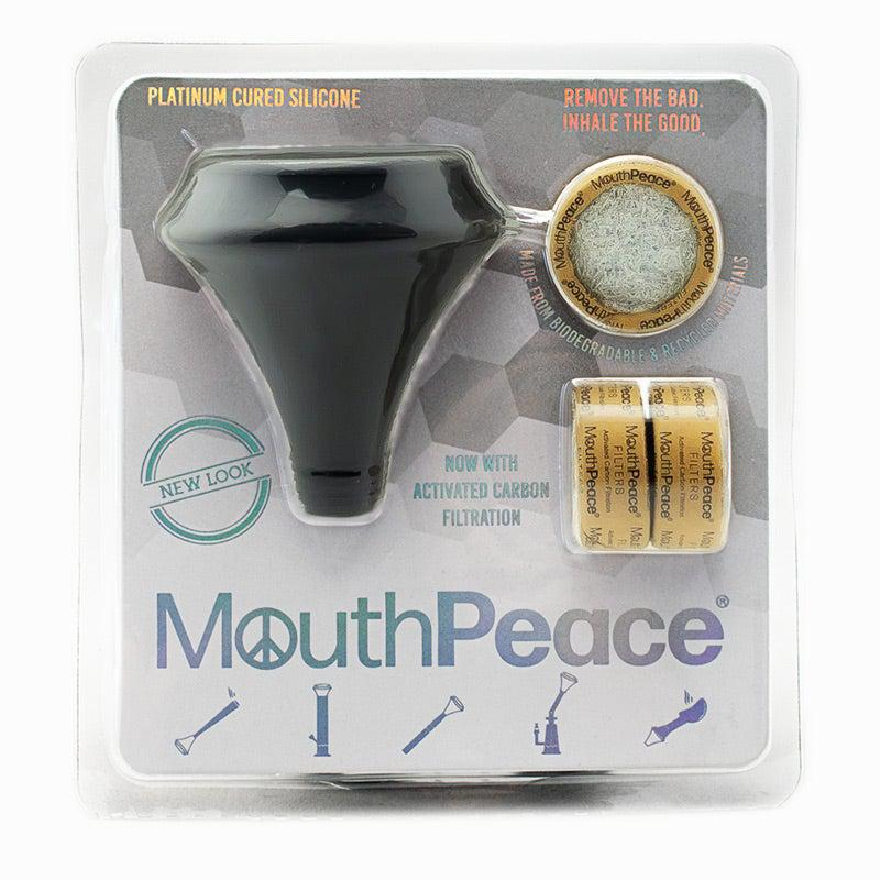 Mouthpeace Black Triple Carbon Filter