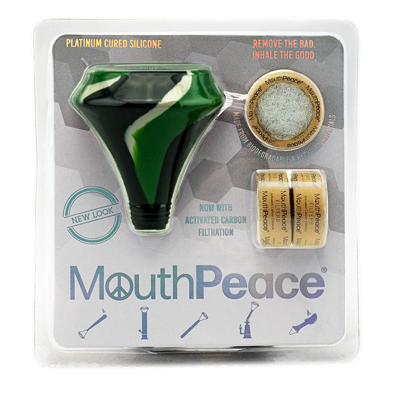 Camo Mouthpeace Triple Carbon Bong FIlter