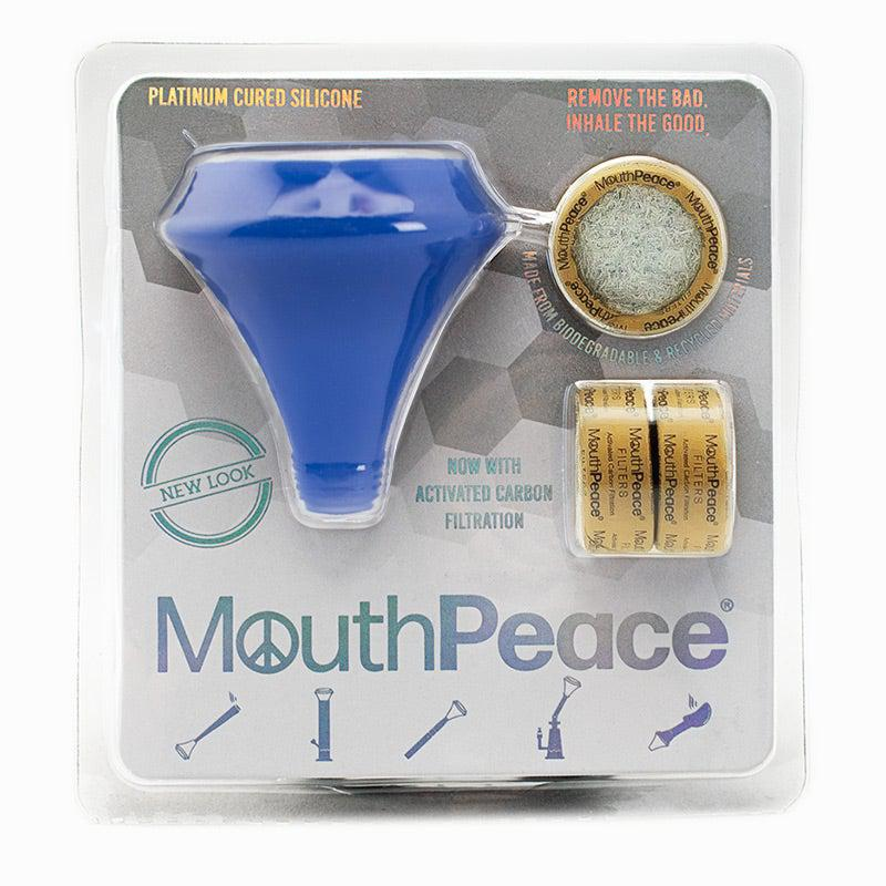 Mouthpeace Royal Blue Weed Filter