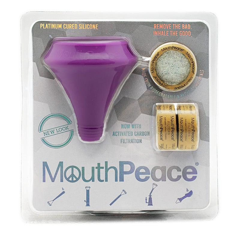 Purple Mouthpeace Carbon Marijuana Filter