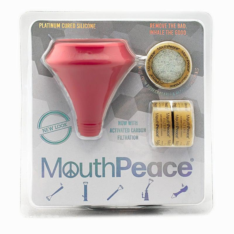 Mouthpeace Red Carbon Weed Filter