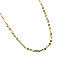 "Anchor Adjust Chain(16""-18"") Yellow Gold"