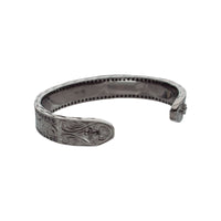 Zirconia Bangle Black(Black Rhodium)