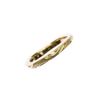 Calm Wave Ring Yellow Gold