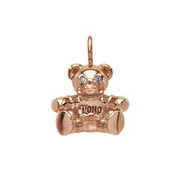 Bear Pendant Pink Gold*SALE*