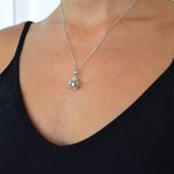 Crown Pendant + CZ White Gold*SALE*