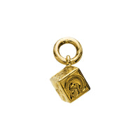 Cube Pendant Yellow Gold*SALE*