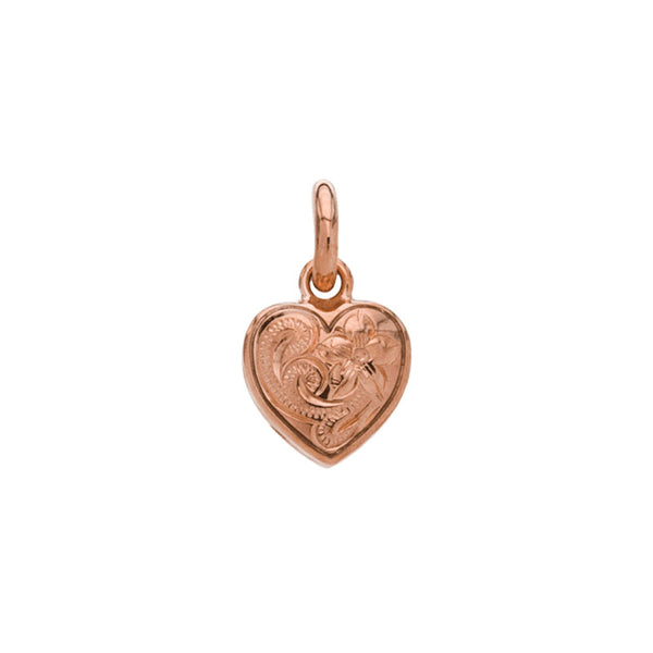 Heart Pendant Small Pink Gold*SALE*
