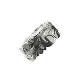 Kinolau Ring Silver 10mm Flat