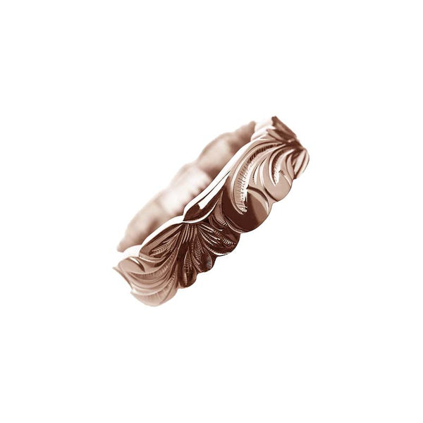 Kinolau Ring Pink Gold 06mm Flat