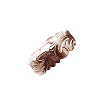 Kinolau Ring Pink Gold 08mm Flat