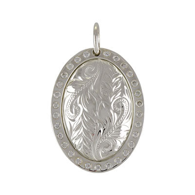 Oval Pendant (Maile) Small *SALE*