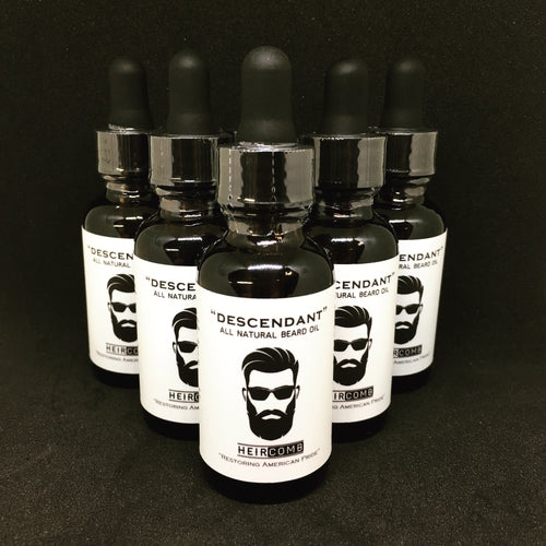 Heircomb Descendant premium beard oil