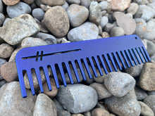 Heircomb Abbey premium finished metal comb