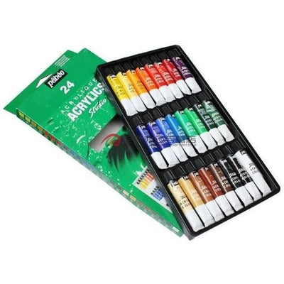 Pébéo Studio Acrylics sets are available in 12, 18 and 24