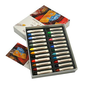 Sennelier Oil Pastel Set of 24, boxed sets available in 4 colour ranges  Universal Colour Range Landscape Colour Range Still Life Colour Rane Portrait Colour Range   Exceptionally smooth and creamy, these pastels are the ultimate in the combination of blending power and opacity.