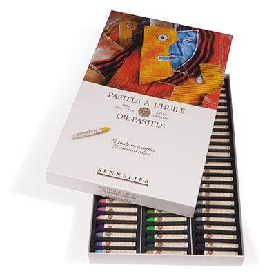 Sennelier Oil Pastel Set of 72 Oil pastel set of 72 assorted.