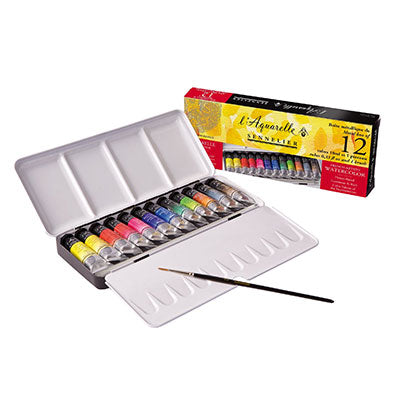 Sennelier Watercolour Travel Set 12 Tubes