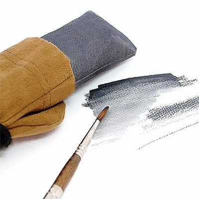 Hand made water soluble graphite stick in a beautiful bag defying the artist to create new forms of art expression and establish new frontiers of creativity