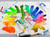 Holbein Acrylic Gouache Set D421 set includes 5 x 20ml primary colours.