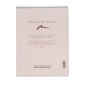 These Sennelier Grey Felt paper pads are made for extra soft pastel and charcoal drawings.