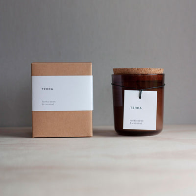 tonka bean & coconut 50 hour candle