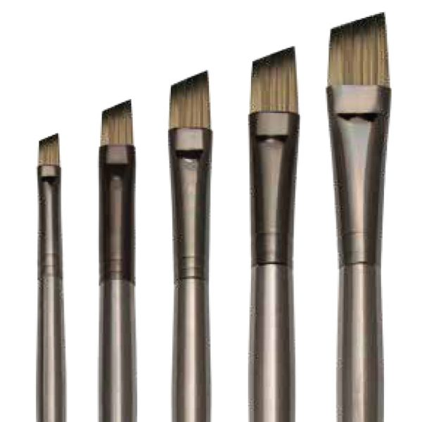 The Royal Langnickel Zen™ Series 53 Angular Ferrule is available in 5 sizes and perfect for Oil and Acrylic Painting.