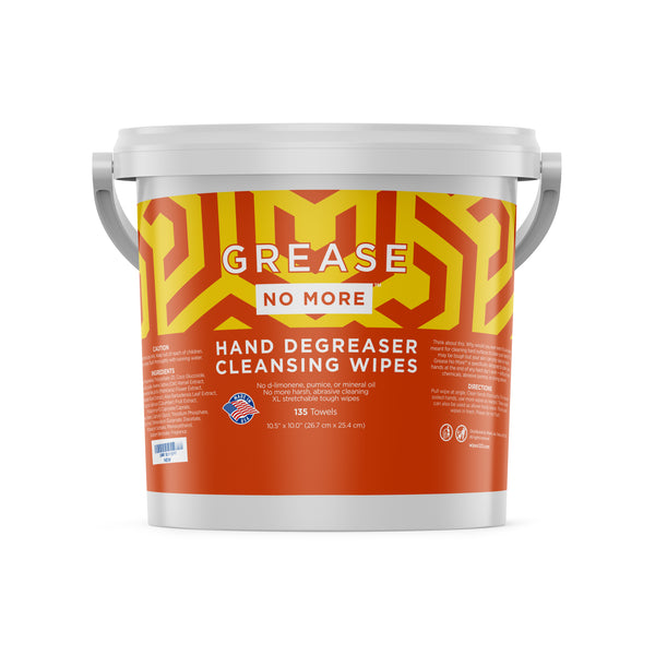 Grease No More Heavy Duty Hand Cleaning Wipes