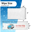 Car Wash Dashboard Wipes - 1000 Wipes Per Case