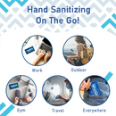 Travel Lite Hand Sanitizing Wipes, 99.9% Effective Against Most Common Germs