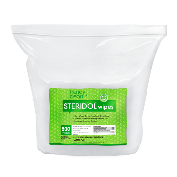 Handyclean Steridol Wipes Jumbo Roll - 800 x 2 = 1600 Wipes