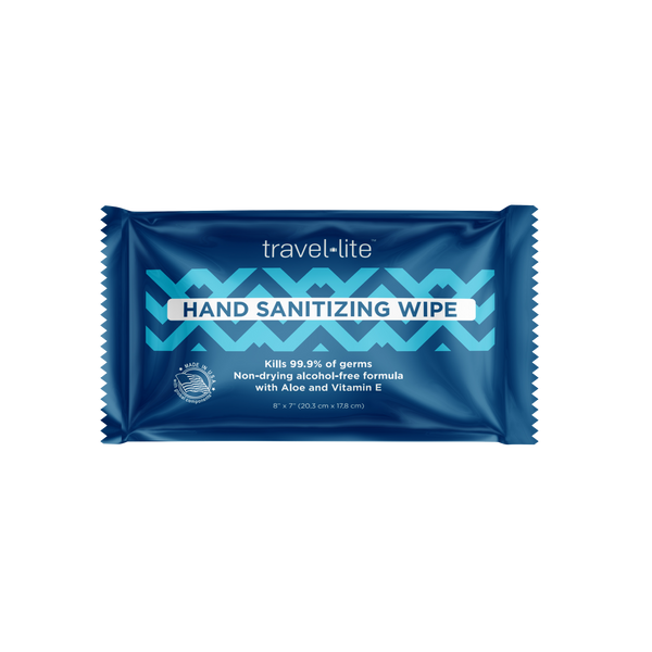 Travel Lite Hand Sanitizing Wipes