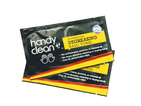 Handy Clean-Heavy Duty Hand Cleaning Wipes 250 Count individual wrap wipes