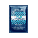 Travel Lite Hand Sanitizing Gel 70% ethyl alcohol, 1.2ml, individual packet, kill 99.9% of household germs