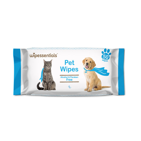 Pet Deodorizing and Grooming Wipes